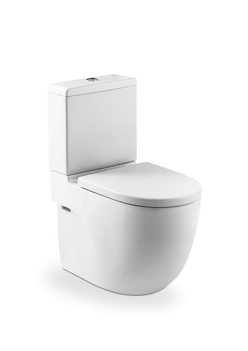 Set WC monobloc BTW Roca Meridian