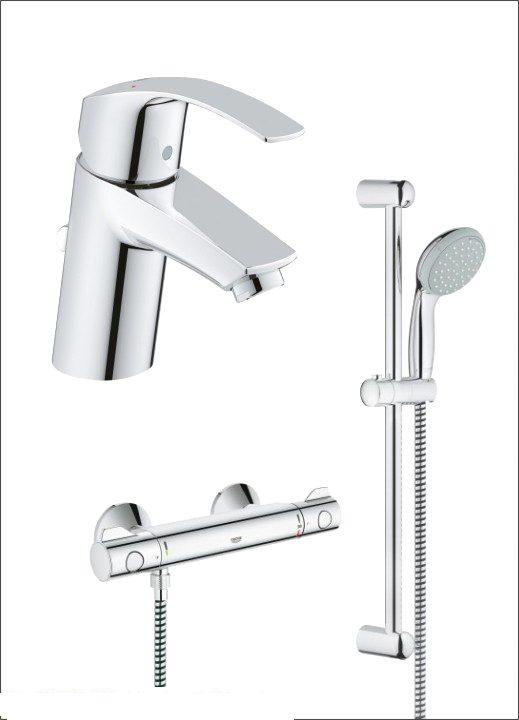 Set baterii dus Grohe Grohtherm 800