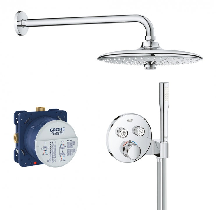 Sistem dus Grohe Grohtherm SmartControl Perfect Shower
