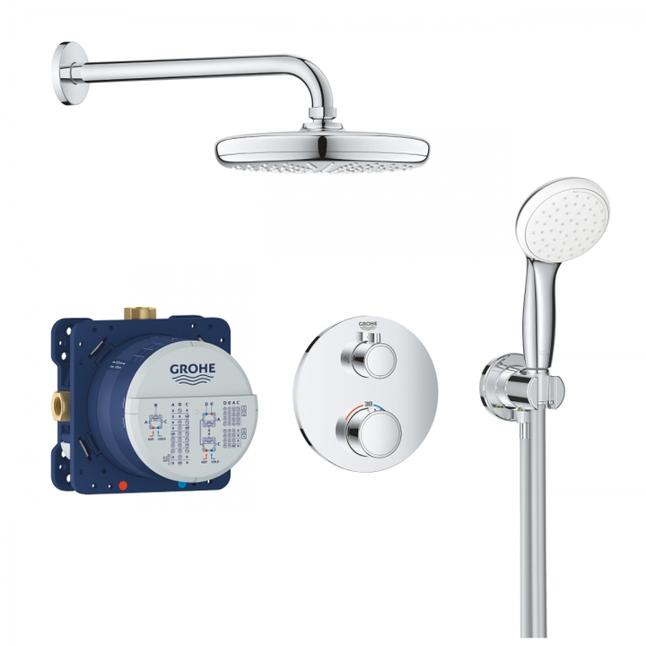 Sistem dus Grohe Grotherm Perfect Tempesta 210