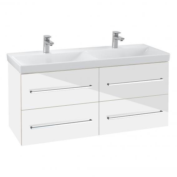 Set mobilier suspendat Villeroy & Boch Avento120cm,alb lucios