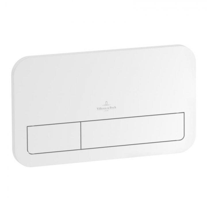Clapeta de actionare Villeroy&Boch ViConnect E200,alb lucios