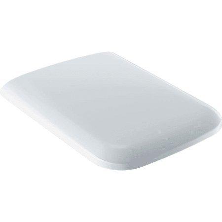 Capac WC Geberit iCon Square cu inchidere lenta, alb